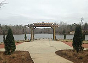 Lynn Ellen Odden Memorial Wedding Garden Inexpensive B anquet Hall near Charlotte, NC