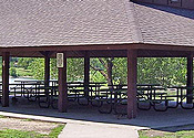 Cheap Small Wedding Venue in KS -- O.J. Watson Park Enclosed Shelter