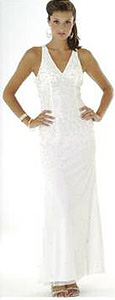 inexpensive casual wedding dress